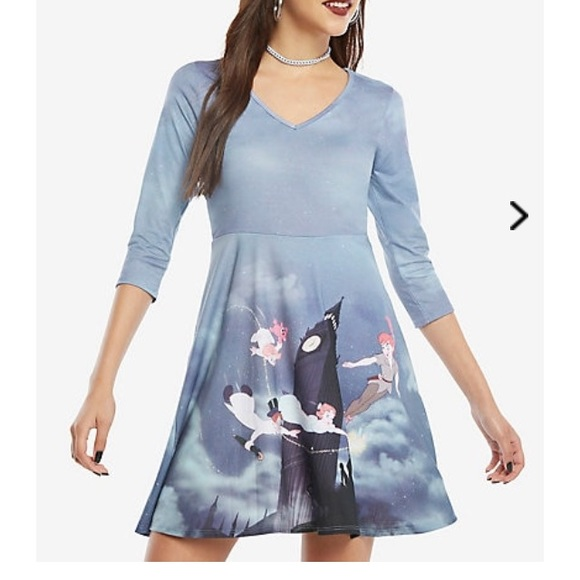 Disney Peter Pan skater dress plus size hot topic